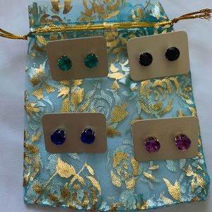 Braydini Jewelry - Lot of 4 Stud Earrings